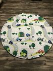 NIB Round 57 x 57 in baby/toddler floor thick playing mat/washable