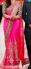 Veeraa Saree Exclusive Beautiful Designer Bollywood Indian Partywear Sari 151