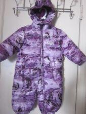 Diesel Baby Girl Purple Snowsuit Coverall Size 12 -M~EC