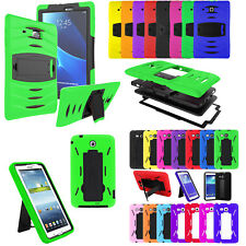 Shockproof Heavy Rugged Duty Armor Case Samsung Galaxy Tab A E 2 3 4 S S2 Lite