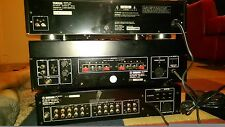 Yamaha- M4 stereo power amplifier, C4 stereo preamplifier.disc player CDC-825