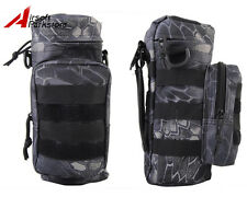 Tactical Molle Water Bottle Pouch Bag Carrier Holder Outdoor Camping Typhon Camo