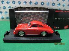 Vintage -  PORSCHE  Carrera 356  1952       -  1/43  Brumm   r 208