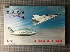MACH 2 026 X 24 A & X 24 B Lifting bodies US Air Force / Maßstab 1:72