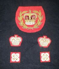 Warrant Officer Bullion Patch And Others