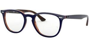Gafas Ray-Ban RX 7159 Blue Havana 52/20/145 para unisex