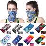 Multi use Biker Balaclava Cycling Neck Tube Scarf Snood Face Mask Warmer Bandana