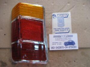 Opel Kadett B caravan 1968 - 74 Tail lamp lense LH side Panza :  P 3767 S , NOS