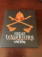 2010 1 OZ Silver Proof Great Warriors Viking.