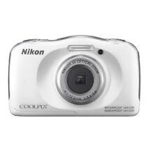 Nikon Coolpix W100 Waterproof Shockproof Camera 13.2 Megapixels White New