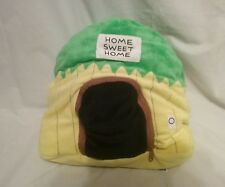 Monkey Happy Nappers zip-up plush 2001 pillow stuffed animal home sweet home