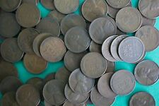 100 Coin Lot Lincoln S Mint Copper Wheat One Cent Penny Assorted Date 1c SanFran
