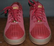NIKE LEBRON JAMES XIII LIFESTYLE TEAM RED SUEDE SNEAKERS ( MEN US SIZE 12 )