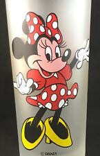 MONKEYS OF MELBOURNE DISNEY MINNIE MOUSE FROSTED GLASS TUMBLER