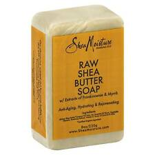 Shea Butter Soap Bar Natural Raw Holistic Moisture Frankincense Myrrh 235 Ml