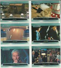 Doctor Who Big Screen 6 card Promo set