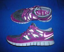 Nike Free Run 2 DB Running Shoes Sneakers Womens 9.5 Purple Grey Doernbecher Gym