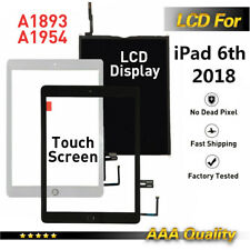 For iPad 6th Gen 2018 A1893A1954 LCD Touch Screen Digitizer Display Replacement