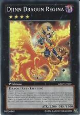 Djinn dragun regina,Queen dragun,GAOV-IT049,1a edizione,Super rara,M/NM,ITA
