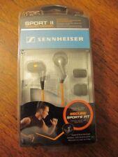 Sennheiser CX380 Sport II Noise Isolating In-Ear Earbuds  - Silver/Orange In USA