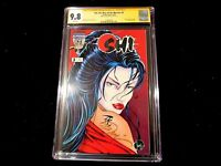 Shi: Way of the Warrior #3 - CGC 9.8 -  SS! Signed by Bill Tucci!