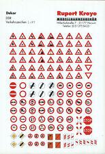 H0 Verkehrszeichen DDR (Teil 1), Siebdruck von Kreye-Decals, 087-0150