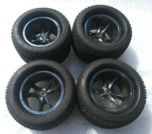 HSP RC TRUCK TRUGGY BUGGY WHEELS PROLINE TIRES TYRES 14MM HEX 3.30 X 5.70