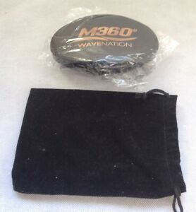 M360 Wave Nation Brush BLACK with Pouch NEW