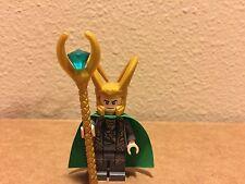 Lego Marvel Superheroes Avengers Loki Minifigure! BRAND NEW HTF!