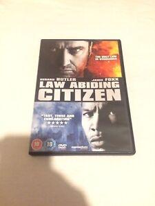 LAW ABIDING CITIZEN - DVD - LIKE NEW