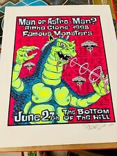 MAN OR ASTRO MAN  Silkscreen Limited Ed Poster by ALAN FORBES (Kozik Coop Ames)