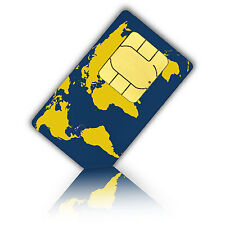 Prepaid WorldSIM with 10 Euro - travelling the world and stay connected (Talk/SM