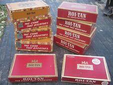 10 pcs Assorted Roi-tan Cigar Box Roitan Empty Cigar Boxes great for decor