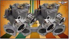 Twin 40 DCOE FAJS sidedraft carburettor set for Nissan Datsun A14 A15