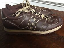 Saucony Gripper Athletic Shoes Leather Maroon Men's Size 13