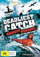 Deadliest Catch - Hairiest Moments On The High Seas (DVD, 2012) Region 4