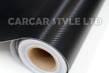 Fibra De Carbono Negro Envuelva Vinilo Hoja De Adhesivos 760mm X 2000mm (2m)