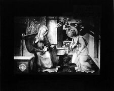 PHOTO ON GLASS ANNUNCIATION BY FRA FILIPPO LIPPI