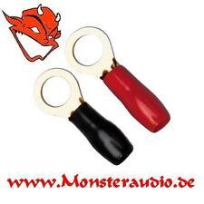 Sinuslive RKS25-12 Kabelschuhe 25mm² Ring 12mm Loch Ringkabelschuhe 25qmm M12