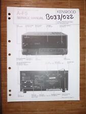Service-manual Kenwood a-f5 amplifier, original