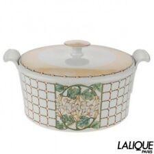 Authentic Lalique Soupiere Perles Collection