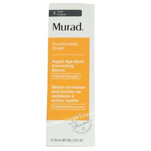 Murad Serum Rapid Age Spot Correcting Enviromental Shield 30ml BNIB RRP £75