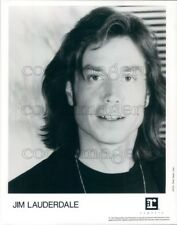 1991 Press Photo Country Americana Singer Songwriter Jim Lauderdale
