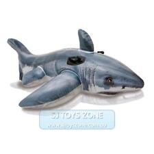 Intex Inflatable Ride On - Realistc Great White Shark Swimming Fun Kids Toy