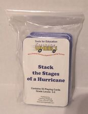 Stages of a Hurricane Card Game Science Educational Activity for Grades 3-8 New