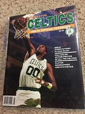 1989 90 BOSTON CELTICS Official Yearbook ROBERT PARRISH