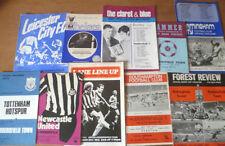 Huddersfield Town Teams F-K Written-on Football Programmes