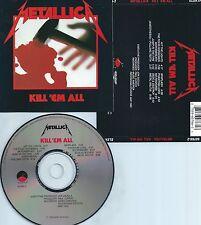 METALLICA-KILL 'EM ALL-1983-USA-E/M VENTURES/ELEKTRA REC.60766-2  RE-3 05-CD-M-