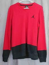 Nike Air Jordan Men's Classic Fit Dri-Fit All Day  Medium Black Red