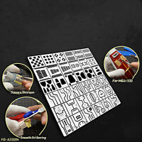 Wafer-shaped Engraving Auxiliary Ruler DIY Model Tool for Gundam MG Modification